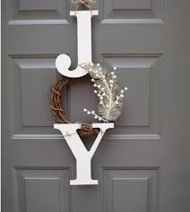 Christmas Decorations For Front Porch Pinterest by Best 25 Christmas Front Doors Ideas On Pinterest Christmas