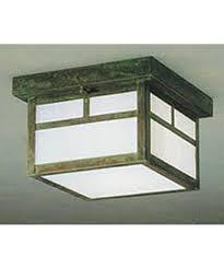 12 Inch Flush Mount Ceiling Light Arroyo Craftsman Mcm 12 Mission 12 Inch Wide 2 Light Outdoor Flush