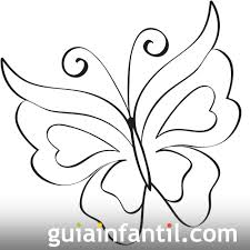 Imagenes De Mariposas Faciles Para Dibujar | imprime este dibujo de una bonita mariposa se trata de un dibujo