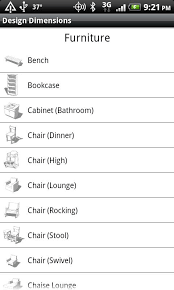 Time Saver Standards For Interior Design Design Dimensions Android Apps On Google Play