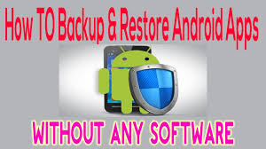 backup apk without root how to backup restore android apps data without root