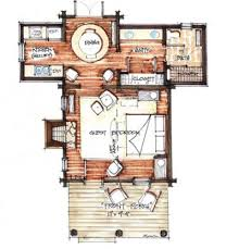 small rustic cabin floor plans cozy cabin floor plans you can use to make your getaway
