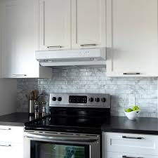 backsplash with white kitchen cabinets tile backsplashes tile the home depot