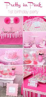 1st birthday themes for pretty in pink birthday party i heart nap time