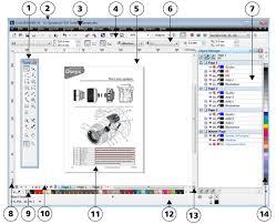 corel designer technical suite corel designer x6 workspace tour knowledge base