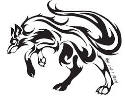 how to draw a howling wolf by forest animals animals