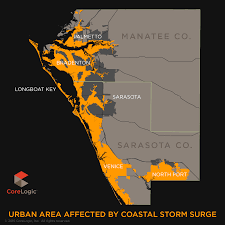 Map Of North Port Florida by 2015 Storm Surge Maps