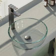 Clear Glass Bathroom Sinks - glass bathroom sinks shop the best deals for nov 2017