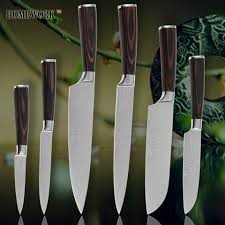stainless steel kitchen knives set damascus veins stainless steel kitchen knife set kitchen caviar