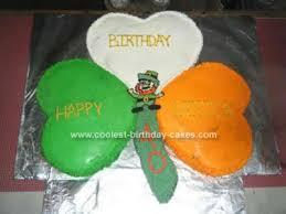 coolest irish themed birthday cake