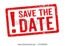 Save The Date Stamps Red Stamp On White Background Save Stock Illustration 475705003