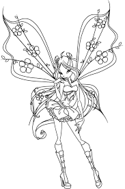 winx coloring pages coloringsuite