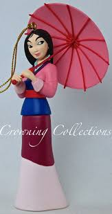 disney mulan ornament grolier magic president s edition