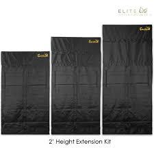 elite extensions gorilla grow tent extensions kits elite hydroponics