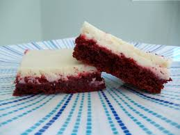 red velvet cheesecake squares the cupcake cure