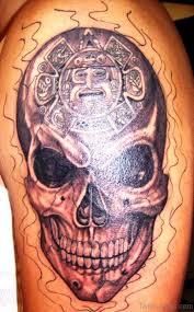 68 brilliant skull tattoos on shoulder