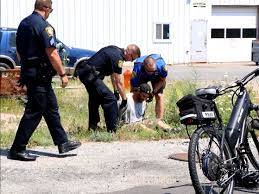 high speed bike chase b u0026e suspect taken down after trying to hawk