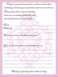 wedding wishes guest book wedding guest book template pages tolg jcmanagement co