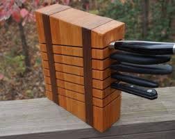 knife blocks knife blocks storage etsy