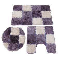 Contemporary Bathroom Rugs Sets Accessories Entrancing Picture Of Modern Bathroom Decoration