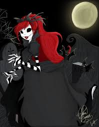 princess of halloween town by viridianvenus on deviantart