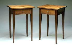 simple side table plans side tables bedside table plans free bedside table plans