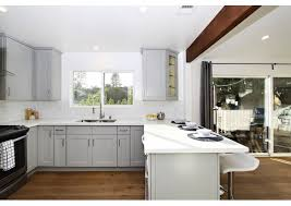 what color countertops go with light grey cabinets top 7 amazing kitchen countertop ideas for your grey