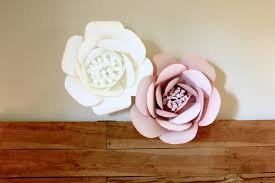Paper Roses How To Make Giant Paper Roses Made By Marzipan