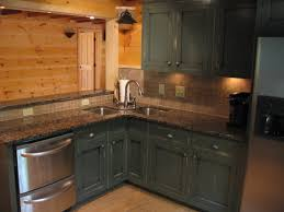 rustic cabin kitchen cabinets monsterlune