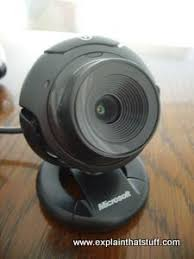 skype computer and tv webcams great video quality for how do webcams work explain that stuff