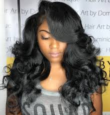 long side swept straight weaves for black weave hairstyles 16