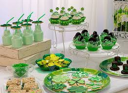 Party City Easter Cake Decorations by St Patrick U0027s Day Desserts Ideas Party City