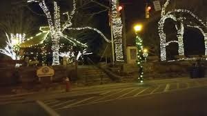 mcadenville christmas lights 2017 christmas lights with full moon in downtown blowing rock north