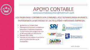 lista blanca sri ecuador servicios contables quito