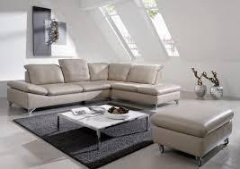 ottomane canapé canapé d angle 4 5 places en cuir gentflex ottomane droite ou gauche