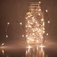 novelty lights 10 warm white led light string