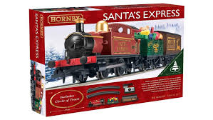 christmas sets hornby r1185 santa s express christmas set by