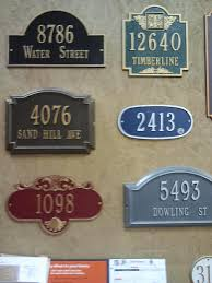 Home Depot House by House Number Signs At Home Depot Cabrillo1542 Flickr