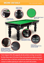 How To Clean Pool Table Felt by 7ft Purple Slate Pool Billiards Snooker Table