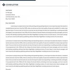 cover letters for dummies examples looking at sample job