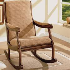 Upholstered Rocking Chairs Rocking Chair Baby Nursery Update A Nursery Glider Rocking