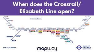 when does the elizabeth line open