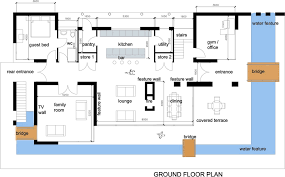 contemporary homes plans contemporary house floor plan office room small bath three rooms