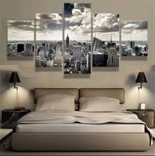 2017 new york city cityscape home decor hd printed modern art