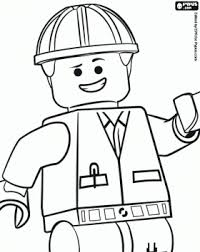 the lego movie coloring pages emmet an ordinary person a lego