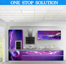 Purple Kitchen Designs by Unusual Design Purple Kitchen Ideas Come With Dark Brown And White