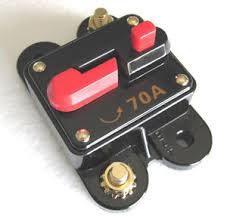 12 volt car audio 70 circuit breaker with reset up to 700