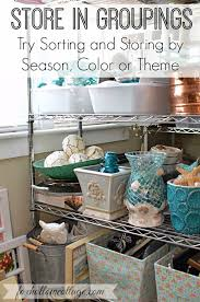 Home Decor By Color Home Decor Storage Room Reveal With Tips And Ideas To Get