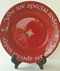 you are special today plate you are special quote via carol s country on