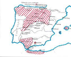 Cordoba Spain Map by Spanish Civil War Objective Madrid Spainthenandnow